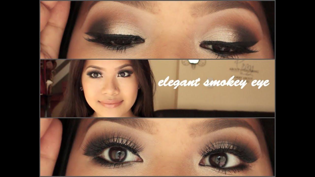Elegant Smokey Eye   makeupbyritz
