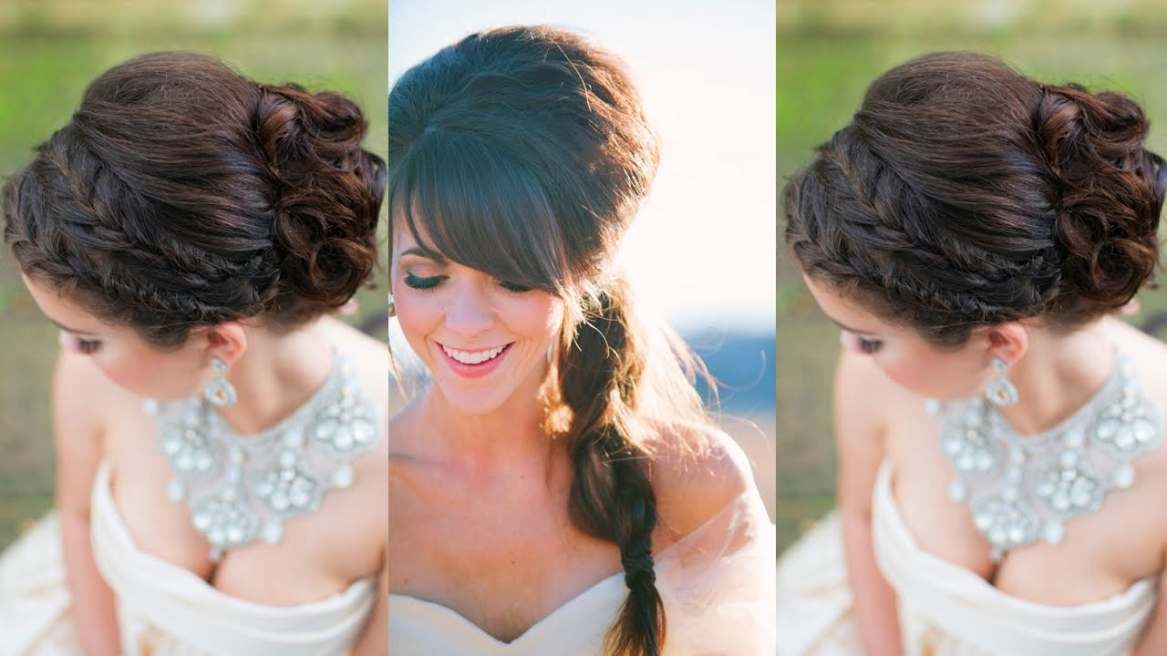 Peinados de novia jovenes