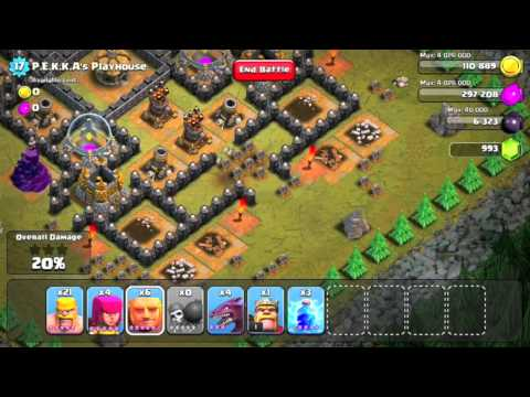 Clash of Clans Level 49 - PEKKAs Playhouse
