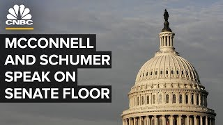 McConnell and Schumer speak on Senate floor ahead of impeachment trial – 1/3/2020