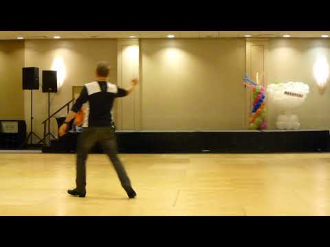 Love Me Or Leave Me Alone Line Dance by Michael Barr Demo @2017 Windy City