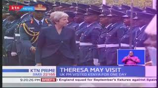 Theresa May becomes the first British PM to visit Kenya in over 30 years