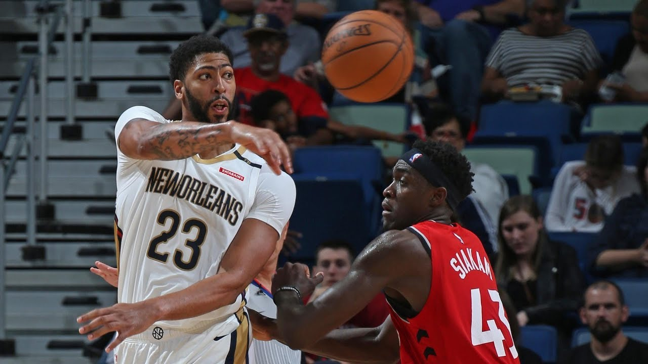 NBA PS Toronto Raptors vs New Orleans Pelicans Oct 11 ...