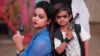 "छोटू का फटका खुशी को जेल मे पटका ""Desi Chhotu English Mem ""Part 31""Khandesh Comedy Video"