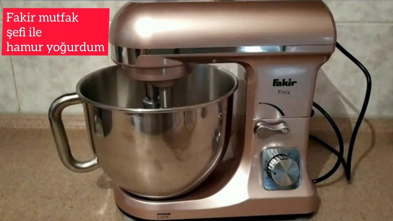Fakir Mutfak Şefi Hamur Yoğurma Hamur makinesi ile hamur yoğurma