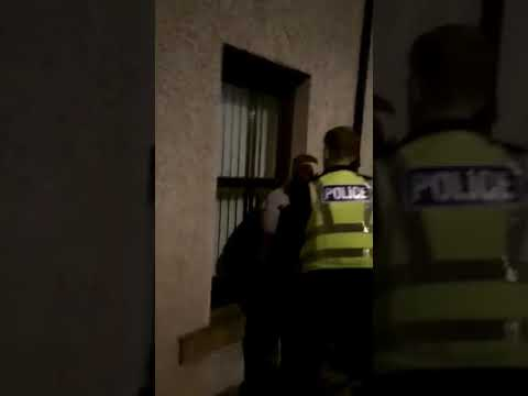 Unlawful arrest excessive force police Scotland