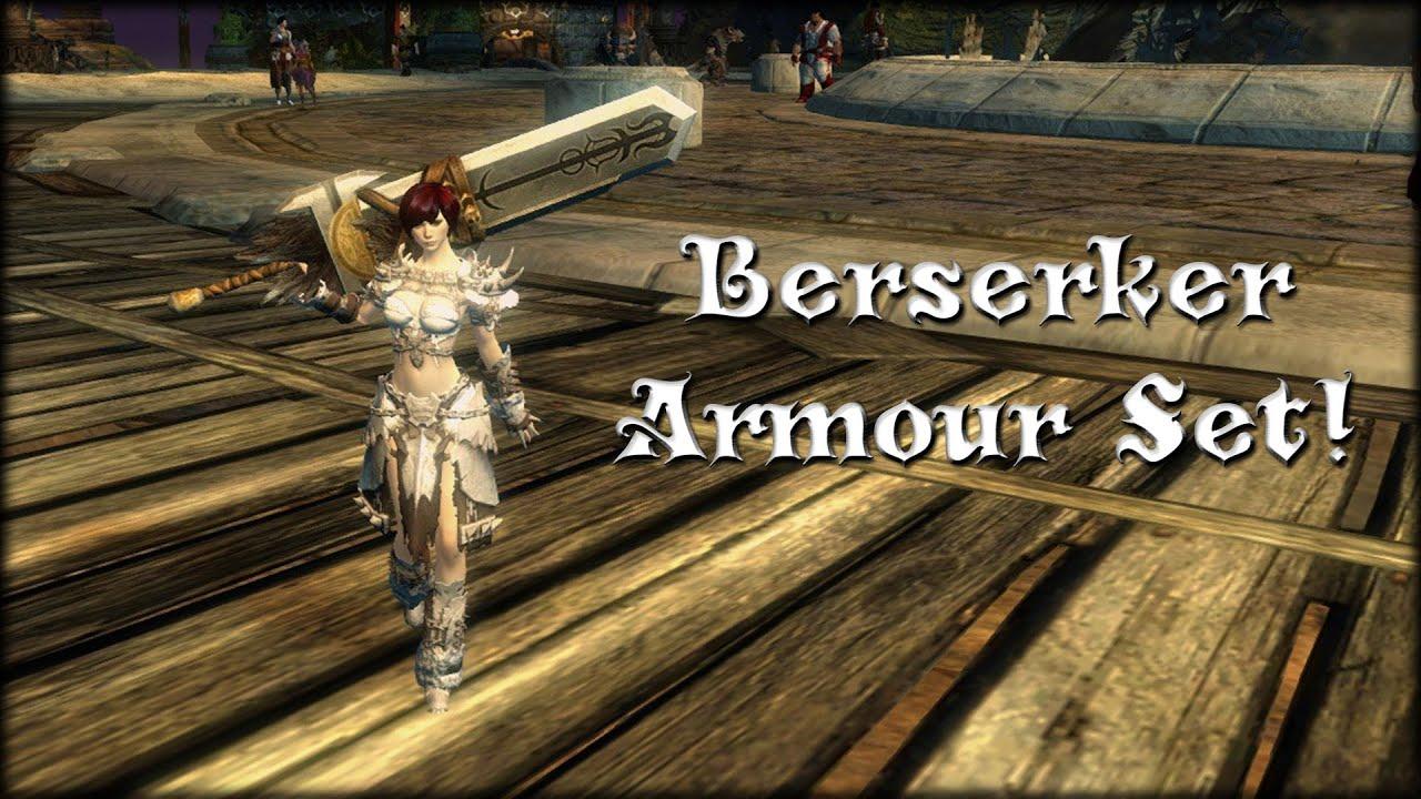 Guild Wars 2 - Berserker Armour Set/Look