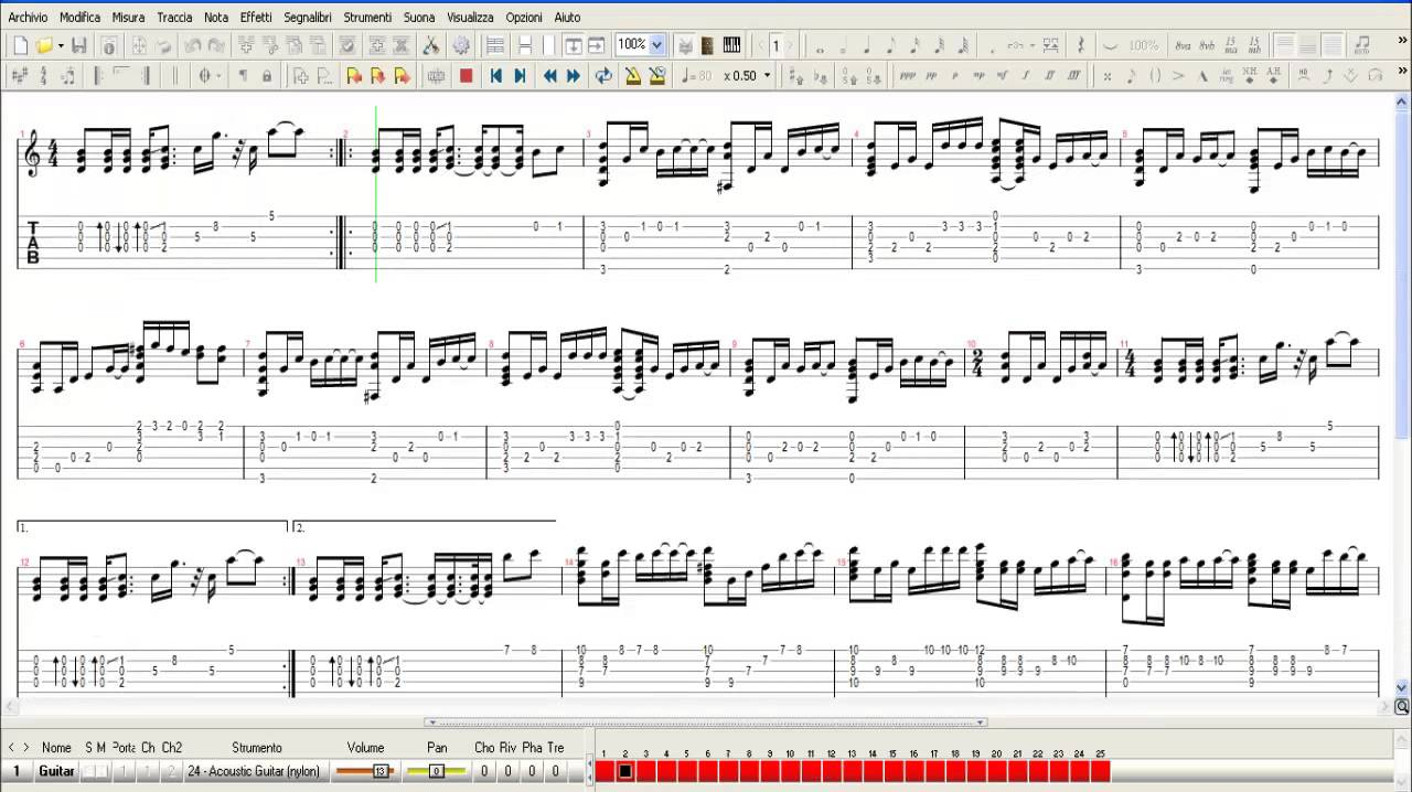 Cat Stevens - Father And Son / Guitar Tab Tutorial HD