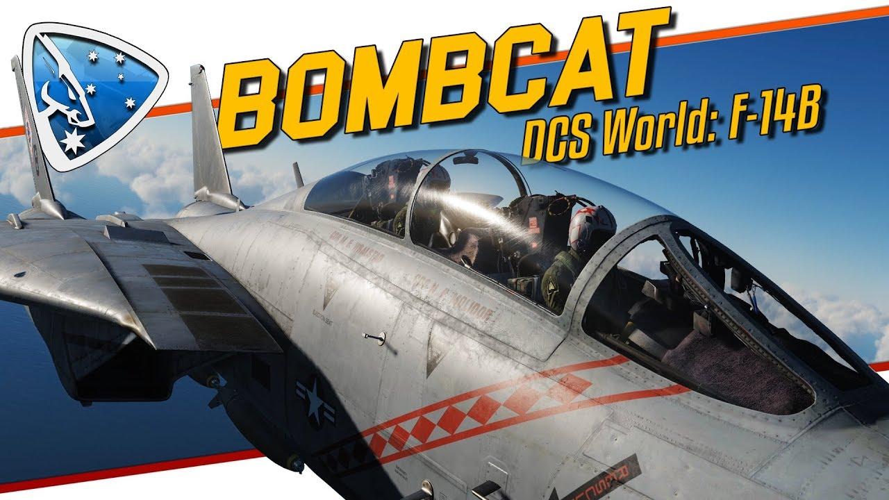 DCS World: BOMBCAT | F-14 Tomcat F-14B TOMCAT by Heatblur Simulations