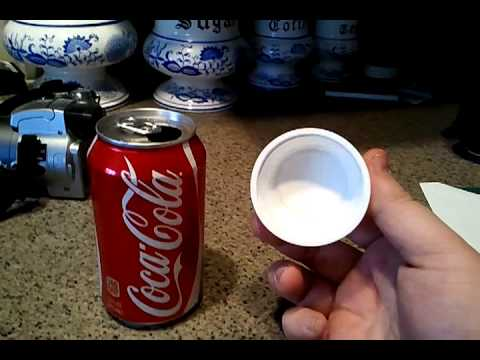 How To Seal Your Pop Can With A Disposable Object