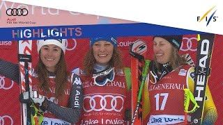 Highlights   Ilka Stuhec Shines In Lake Louise   Fis Alpine