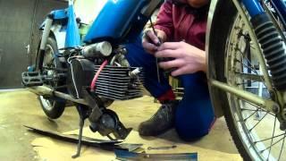 jak vyčistit a seřídit karburátor na Babetě 207