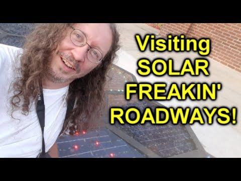 Thunderf00t at SOLAR FREAKIN ROADWAYS!!!