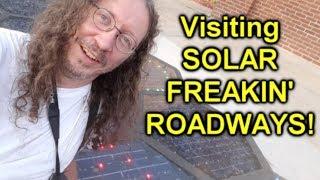 Thunderf00t at SOLAR FREAKIN ROADWAYS!!!