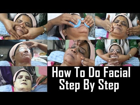 How To Do Facial At Home Tutorial | Step By Step | Easy And Simple Gold Facial