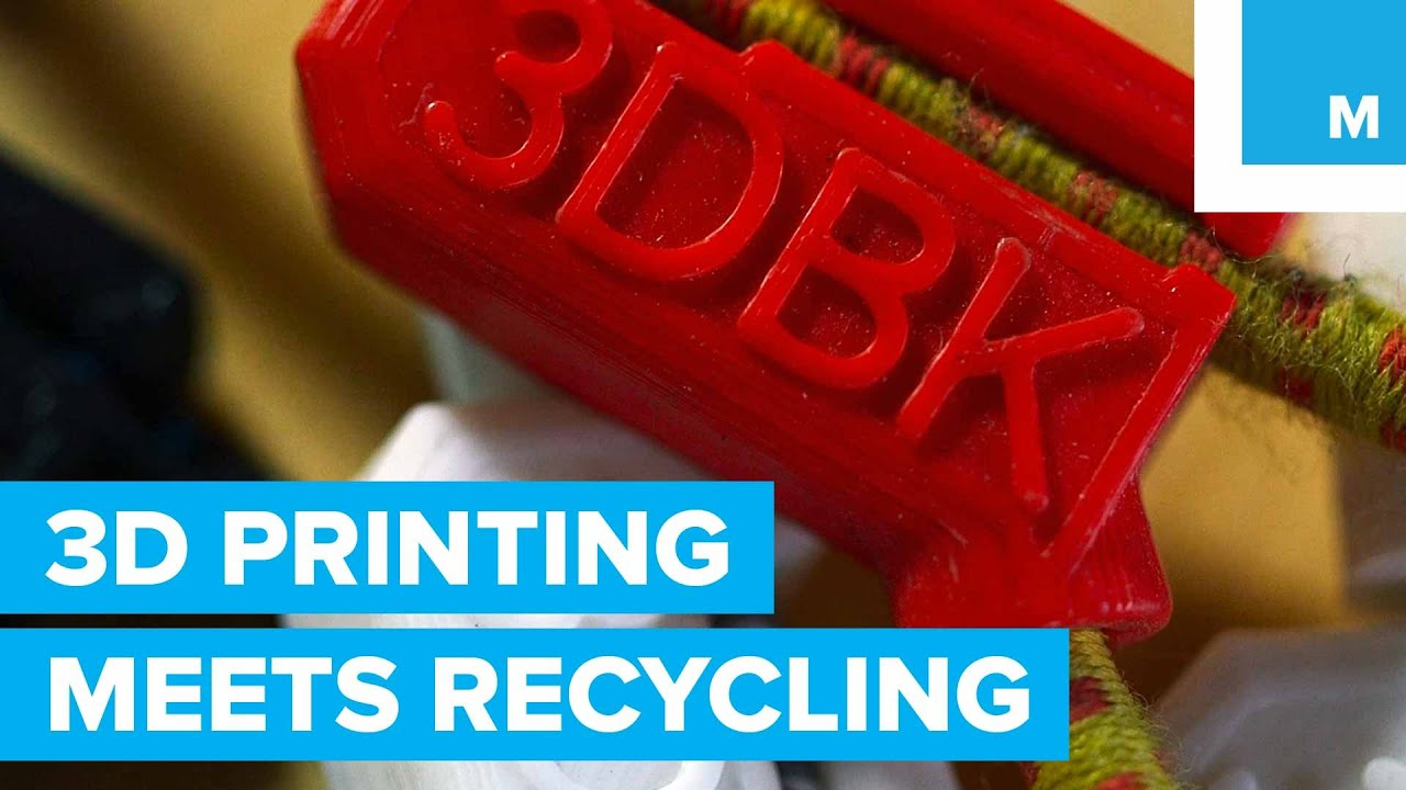 3D Printing with Recycled Potato Chip Bags | Mashable