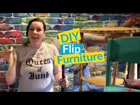 Flip Furniture! DIY Old to New Furniture