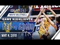 UAAP 81 MV Final Four: FEU vs. ADMU | Game Highlights | May 4, 2019