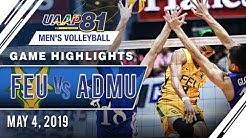 UAAP 81 MV Final Four: FEU vs. ADMU | Game Highlights | May 4, 2019