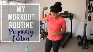 How to Keep the Weight off During Pregnancy | My Pregnancy Workout Routine!