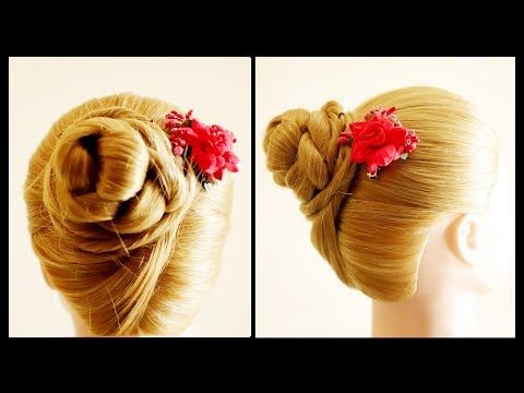 Cute Juda Hairstyle || Bride Hairstyle || Wedding Party Hairstyle || Girls Hairstyle thumbnail