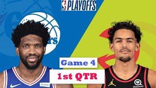 Philadelphia 76ers Vs. Atlanta Hawks Full Highlights 1st Quarter Game 4   NBA Playoffs 2021