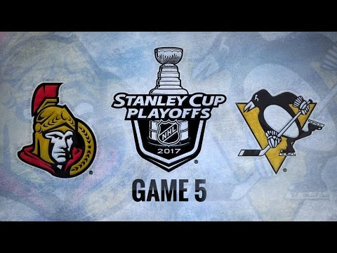 Penguins blank Senators in Game 5 for 3-2 series lead