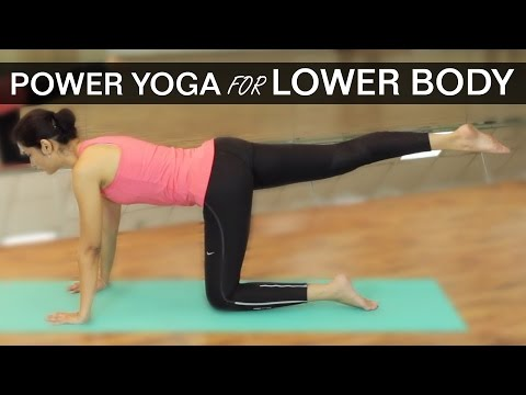 POWER YOGA FOR LOWER BODY WORKOUTS - HIPS & THIGHS
