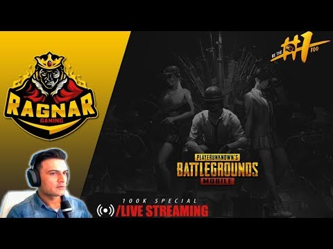 PUBG MOBILE LIVE 100K SPECIAL Season 8 Royal Pass Giveaway - RAGNAR Live GAMING PAKISTAN