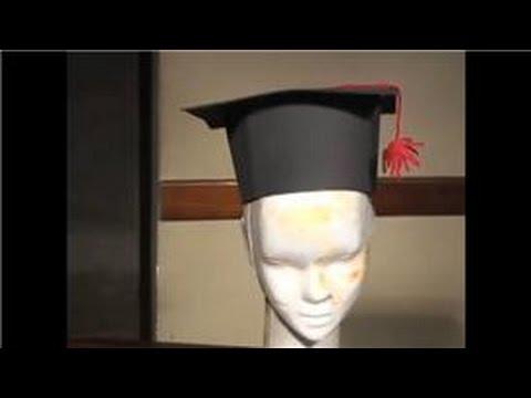 Hacer Gorros de Graduacion - YouTube