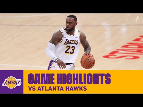 HIGHLIGHTS | LeBron James (33 pts, 12 ast) vs  Atlanta Hawks