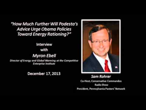 Sam Rohrer interviews Myron Ebell from the Competitive Enterprise Institute