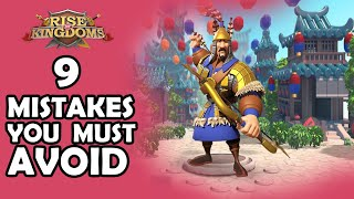 9 Mistakes to Avoid Before Getting T5 | Rise of Kingdoms