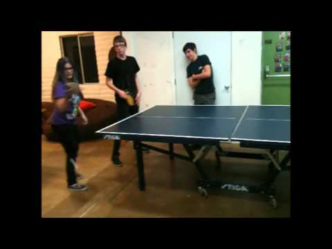 Youth Group Ping-Pong
