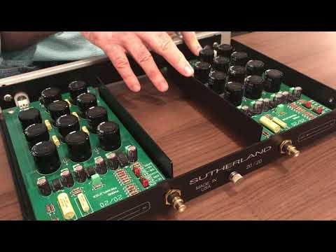 Ron Sutherland Talks About the Sutherland 20/20 Phono Preamp