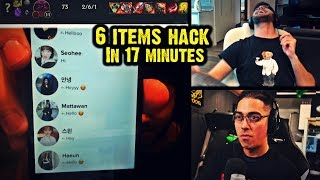 TRICK2G SEES A CHEATING ORNN GETTING 6 ITEMS INSTANTLY | YASSUO SHOWS HIS TINDER MESSAGES | LOL