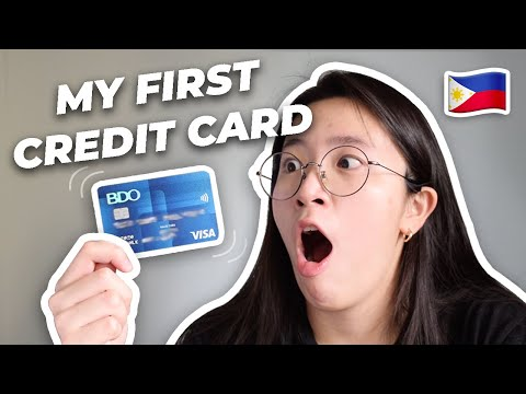 💳 How I got a Credit Card as a Student Philippines | Credit Cards for Beginners | BDO Visa Classic