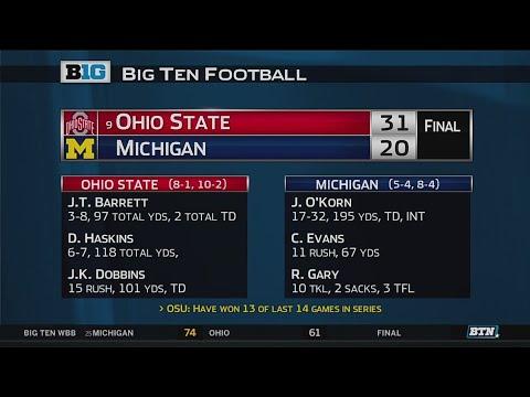 Ohio State at Michigan - Football Highlights