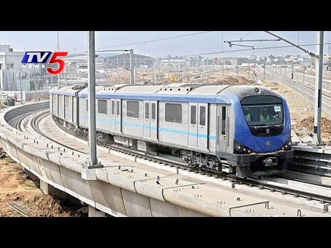 DMRC Calls Tenders For Vijayawada Metro Rail Construction | TV5 News