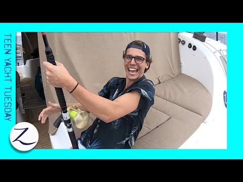 Fishing, Foiling And Fiji! (Teen Yacht Tuesday)