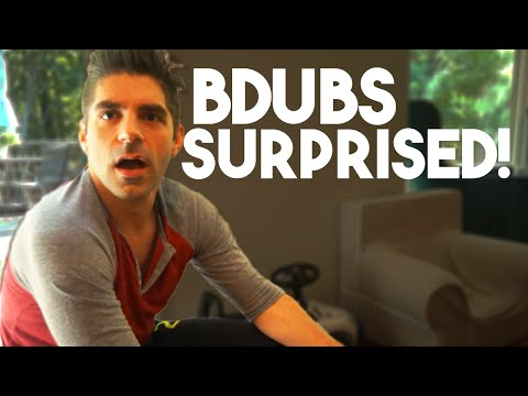 Bdubs gets a Big Surprise!