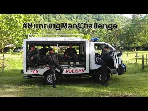 Philippines Elite Police PNP-SAF Running Man Challenge