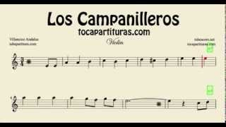 Los Campanilleros Sheet Music for Violin