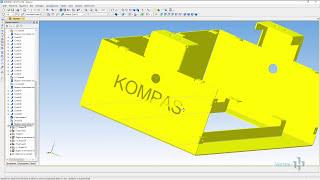 10 Гибка листового металла в КОМПАС 3D - МАСТЕР КЛАСС