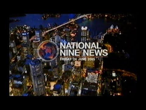 National Nine News Sydney - Full Bulletin (24.6.2005)