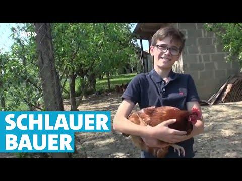 Der 14-jährige Jungbauer