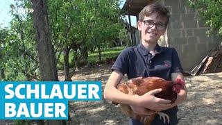 Der 14-jährige Jungbauer aus Winzerhausen | Landesschau Baden-Württemberg