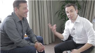 "Tony Robbins New Book ""Money: Master the Game."" Interview with Brendon Burchard"