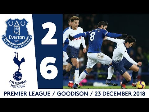HIGHLIGHTS: EVERTON 2-6 TOTTENHAM