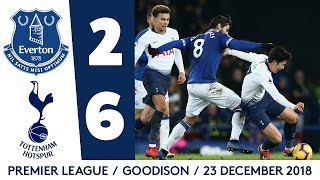Download HIGHLIGHTS: EVERTON 2-6 TOTTENHAM Mp3 and Videos